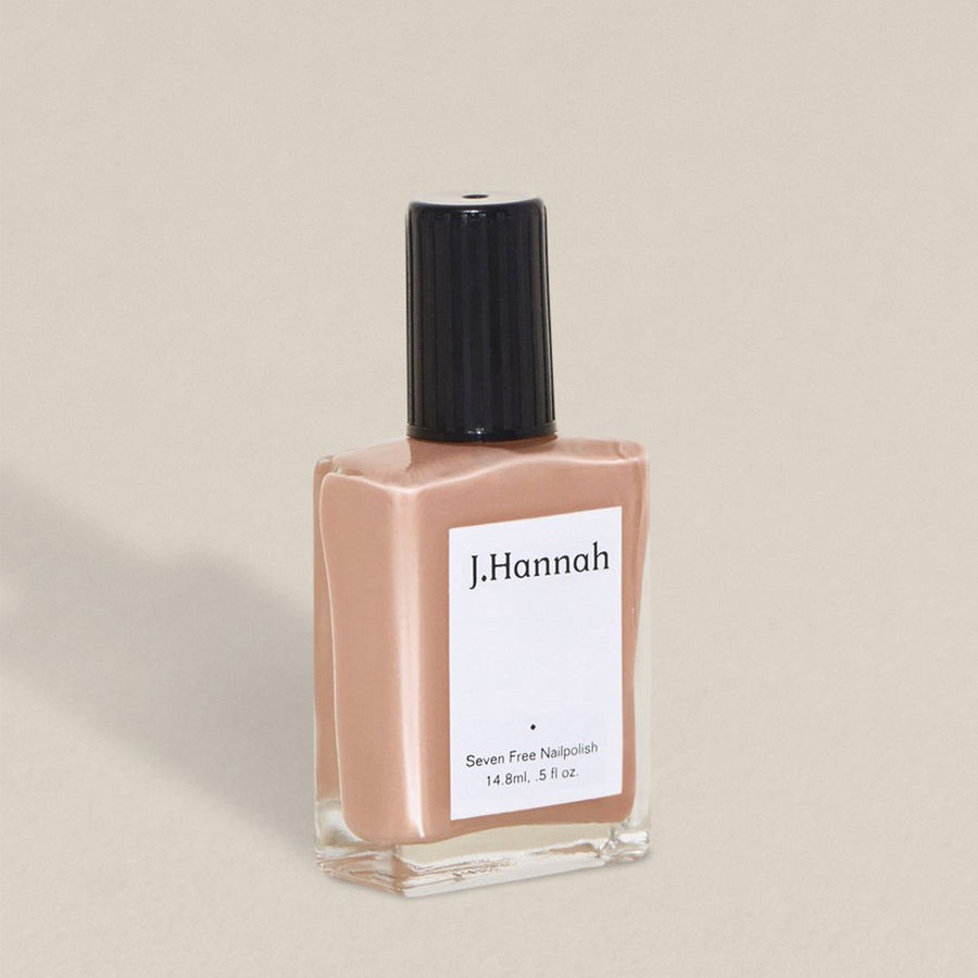 J.Hannah nail polish in Agnes, a faded rose petal colour, available at Rook & Rose in Victoria, British Columbia, Canada