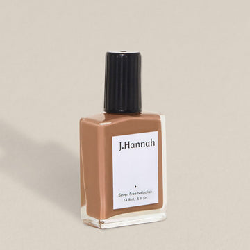 J.Hannah nail polish in Hepworth, a warm wooden colour, available at Rook & Rose in Victoria, British Columbia, Canada