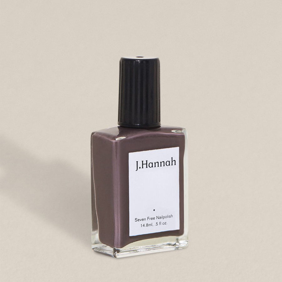 J.Hannah nail polish in Ikebana, an organic purple colour, available at Rook & Rose in Victoria, British Columbia, Canada