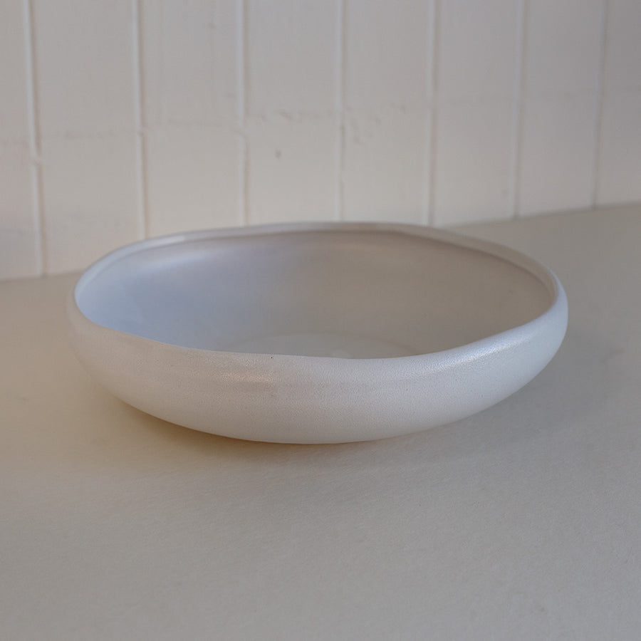 Shallow ceramic bowl available at Rook & Rose in Victoria, British Columbia, Canada