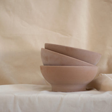 Terracotta bowl available at Rook & Rose in Victoria, British Columbia, Canada