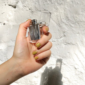 Clear Tsubota Pearl hard edge lighter available at Rook & Rose