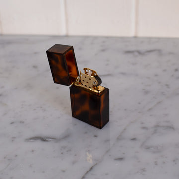 Tortoise lighter available at Rook & Rose in Victoria, British Columbia, Canada
