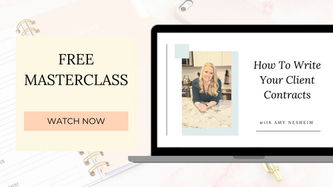 Free Masterclass: How to Write Your Client Contracts
