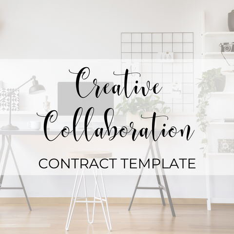 Creative Collaboration Agreement Contract Template