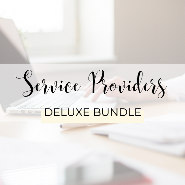 Service Providers Deluxe Bundle