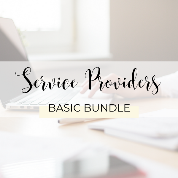 Service Providers Basic Bundle