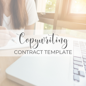 Copywriting Contract Template