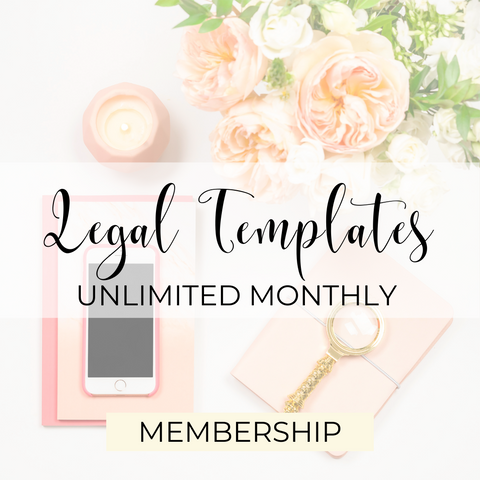 Legal Templates Unlimited Monthly (Annual Subscription)