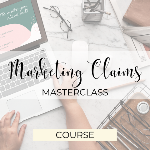 Marketing Claims Masterclass