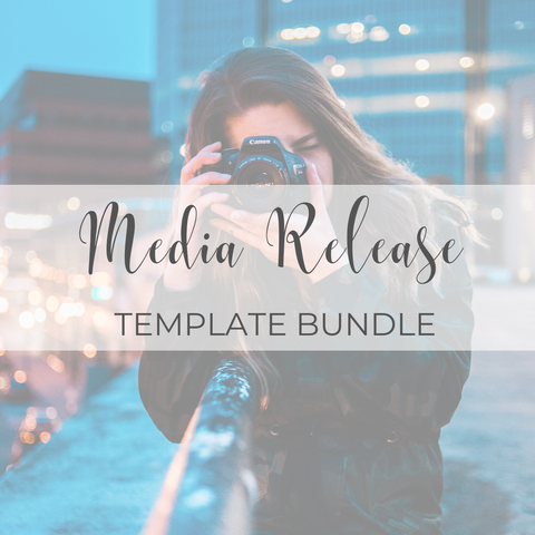 Media Release Template Bundle
