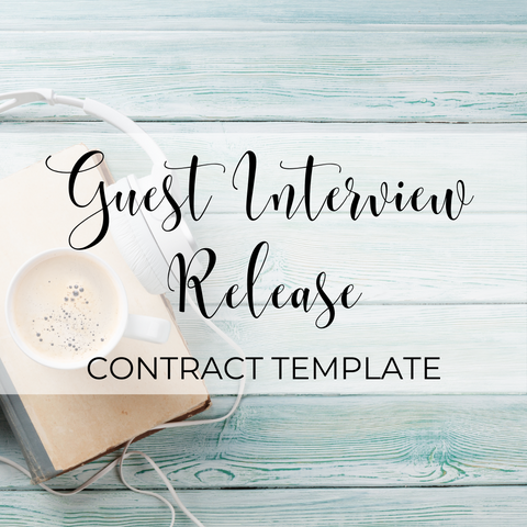 Guest Interview Release Template