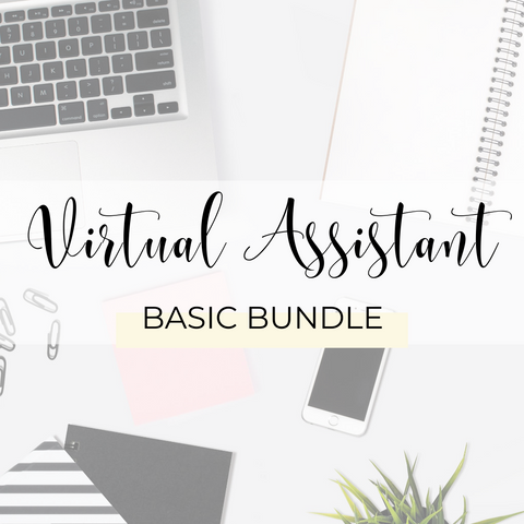 Virtual Assistants Basic Bundle