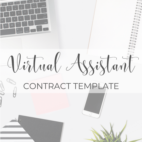 Virtual Assistant Contract Template