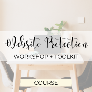 Website Protection Workshop + Toolkit