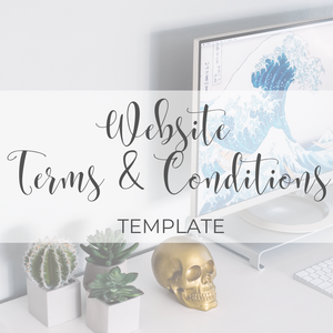 Website Terms & Conditions