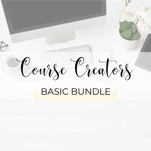 Course Creators Basic Bundle