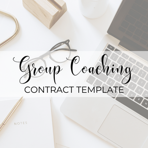 Group Coaching Contract Template
