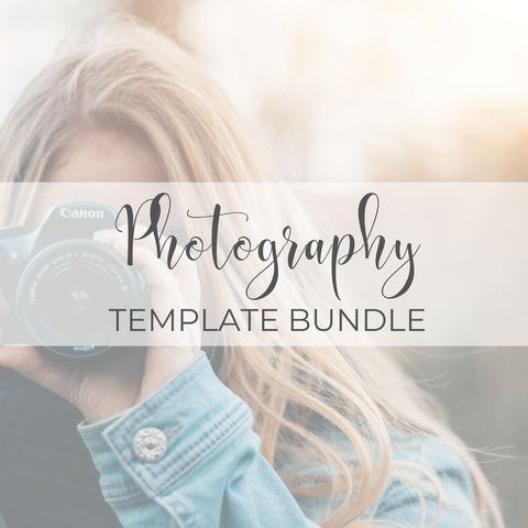 Photography Template Bundle