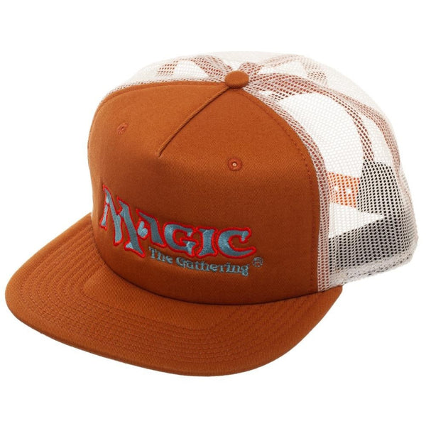 MtG Magic The Gathering Logo Trucker Baseball Hat Cap