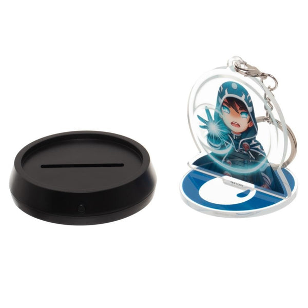 Magic the Gathering Jace Beleren Acrylic Stand Keychain with LED base