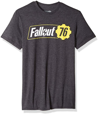 Bioworld Fallout 76 Logo Mens Black T-Shirt