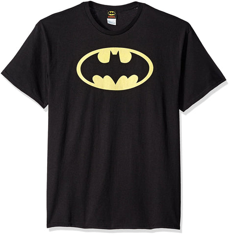 DC Comics Batman Logo Men's Black T-shirt