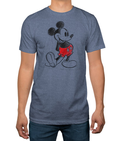 Disney Mickey Mouse Standing Pose Men's T-Shirt