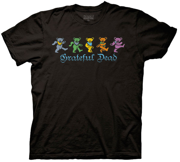 Grateful Dead Dancing Bears Mens T-Shirt
