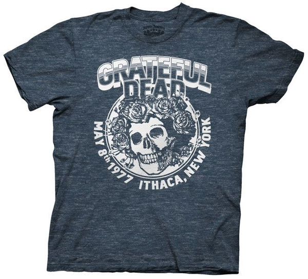 Ripple Junction Grateful Dead Ithaca NY Adult Mens T-shirt
