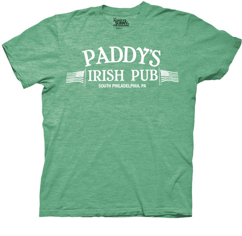 It's Always Sunny in Philadelphia Paddys Irish Pub Adult Heather Kelly T-Shirt