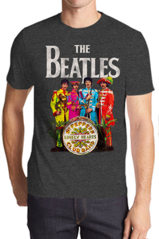 The Beatles Sgt Pepper's Lonely Hearts Club Band Men's T-Shirt