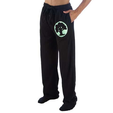 Magic The Gathering Green Mana Adult Lounge Pants