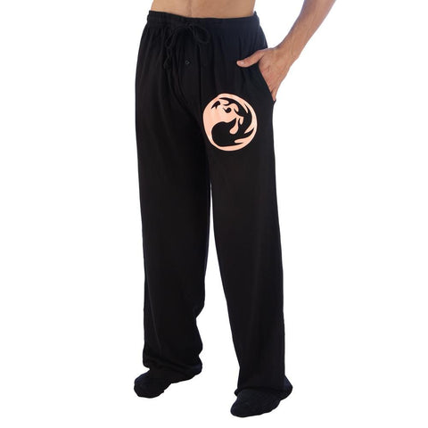 Magic The Gathering Red Mana Adult Lounge Pants