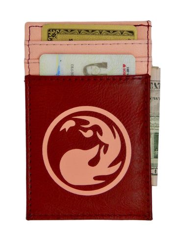 MtG Magic the Gathering Front Pocket Card Wallet Red Mana