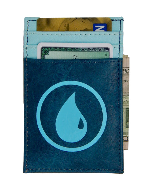 MtG Magic the Gathering Front Pocket Card Wallet Blue Mana