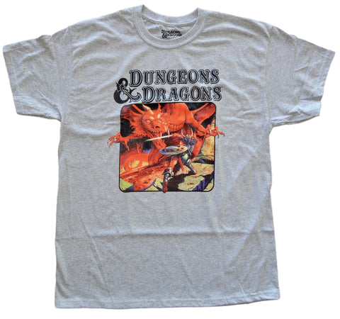 Dungeons and Dragons D&D Book Cover Mens T-Shirt