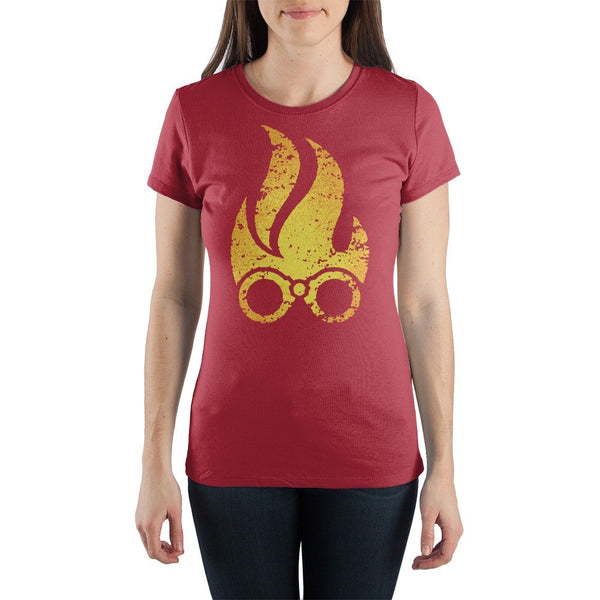 MtG Magic The Gathering Chandra Pyromancer Women's Junior sized T-shirt