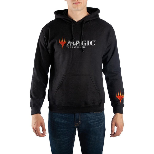Magic The Gathering MTG Arena Logo Men's Black Hoodie Sweatshirt