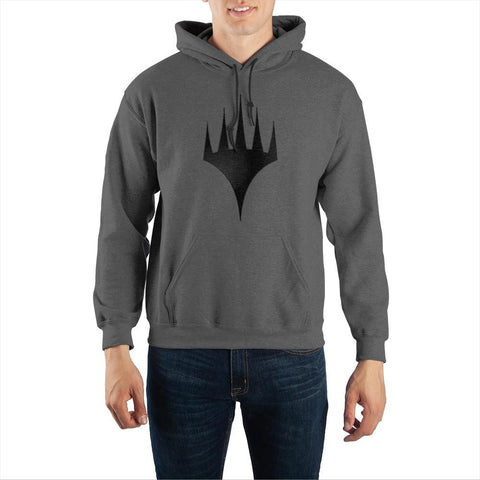 Magic The Gathering MTG Arena Planeswalker Logo Men's Grey Hoodie Sweatshirt