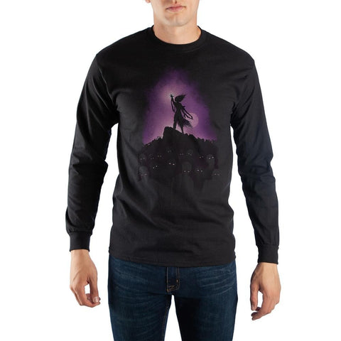 MtG Magic The Gathering Liliana Vess Planeswalker Black Long Sleeve Tee