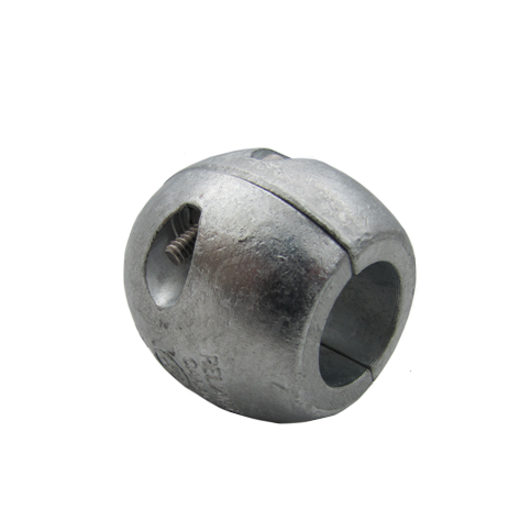 "Shaft Anode 1 1/8"" Ball Zinc"