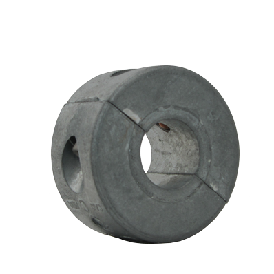 "Shaft Anode 1"" collar Heavy Version in zinc"