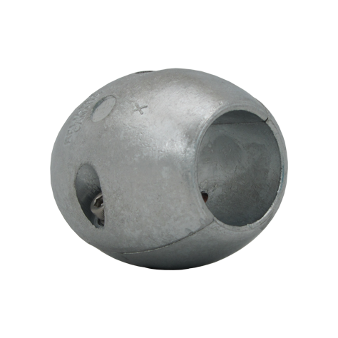 "Shaft Anode 1 1/4"" Ball Zinc"