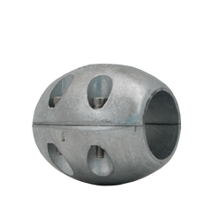 Zinc shaft anode