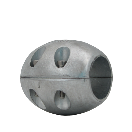 Large 2 inch Ball in Zinc