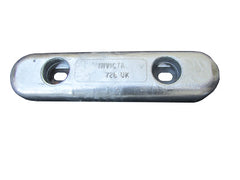 Aluminium bar bolt on anode, 457mm long, 5kg