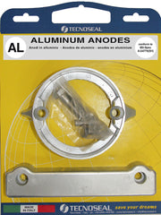 Aluminium anode kit for volvo penta duo-prop 280 saildrive made by Tecnoseal