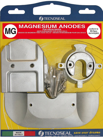 Magnesium Anode kit for Mercruiser alpha one generation 2 sterndrive 1991 onwards