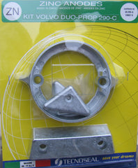 Zinc Anode Kit for Volvo Duoprop 290 Drive Complete